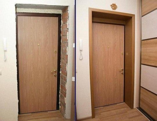 Арка дверная своими руками из доборов 3