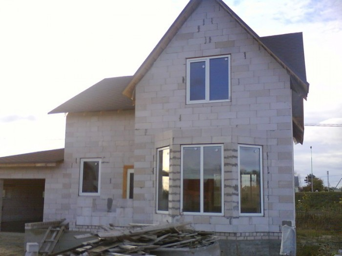 Дом построить из пеноблоков своими руками под ключ