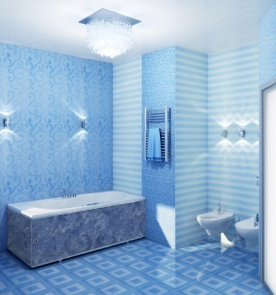 Ванная комната пвх дизайн