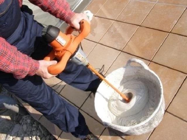 Как сделать шпаклевку по цементу 150