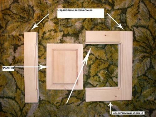 Как сделать мебельный фасад из 371