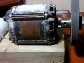 Как сделать из электродвигателя от стиральной машины 572