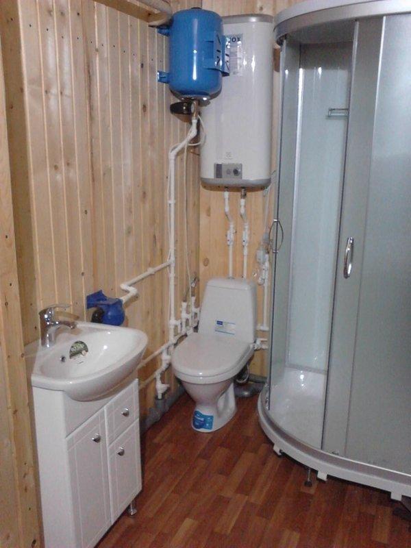 Как сделать благоустроенный туалет в частном доме своими руками фото 56