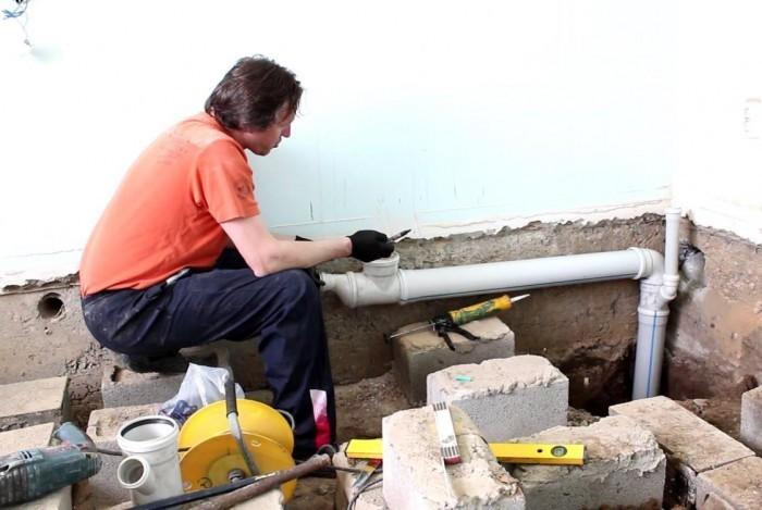 Строительство дома канализация своими руками