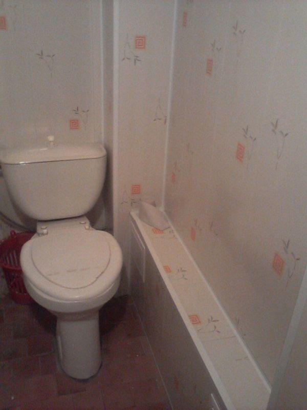 Как сделать туалет и ванну панелями 434