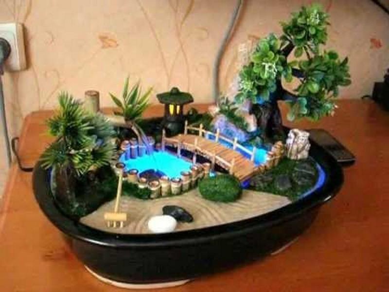 Как сделать фонтан для квартиры своими 239
