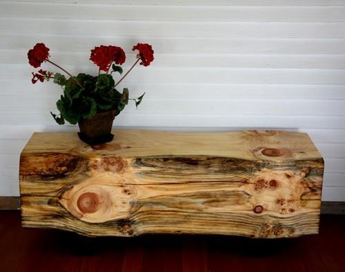 Деревянный интерьер поделки