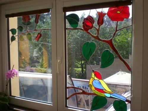 Как сделать витражные окна 5
