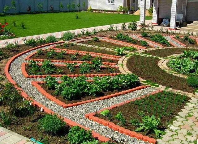 что сам дизайн сада и огорода своими руками картинки Бекхэм одна