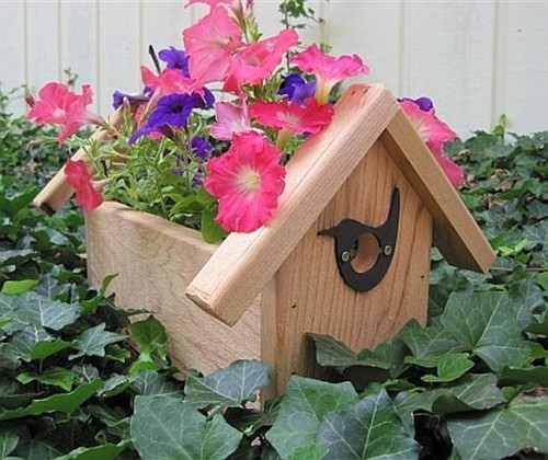 Как сделать садовый горшок для цветов