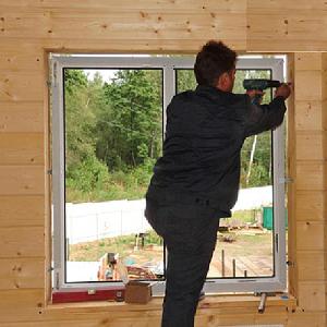 Как установить окна в брусовом доме своими руками 28