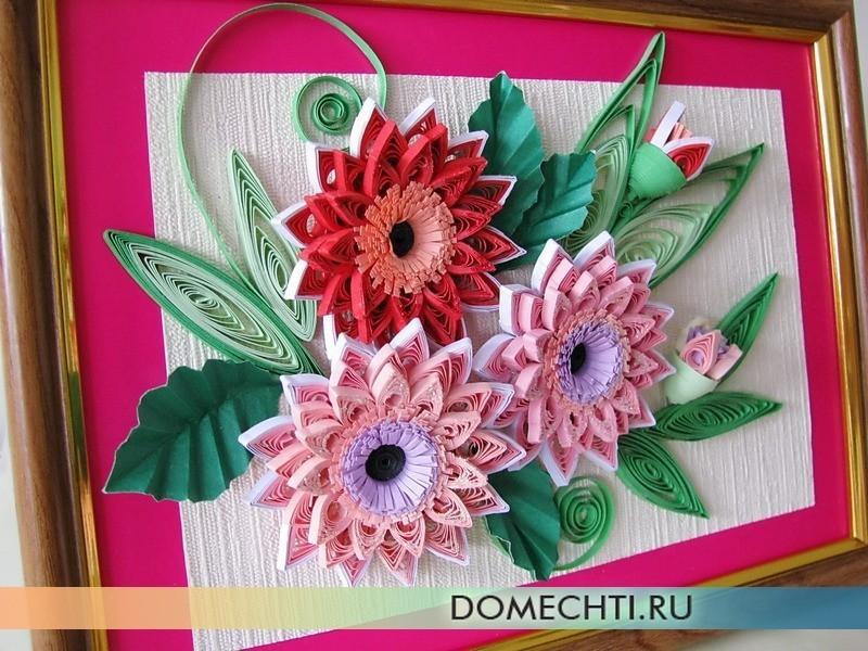 Квиллинг цветы мастер класс с пошаговым фото простые