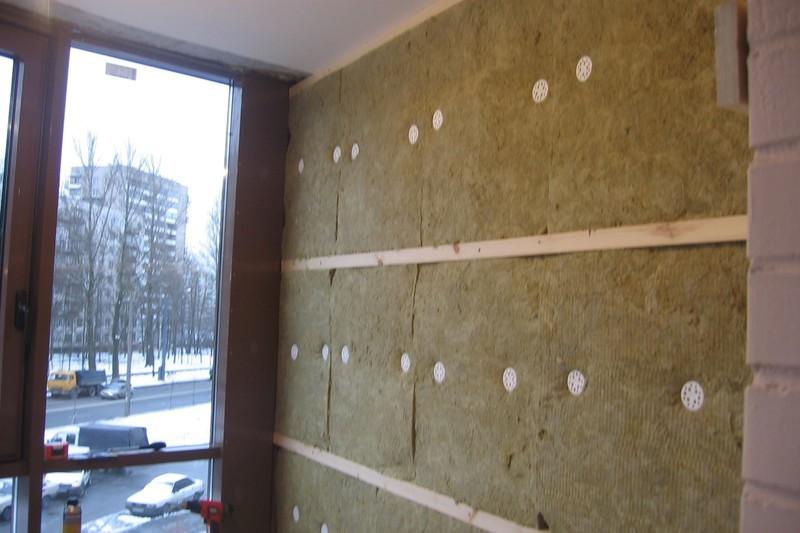 Утепление балконов минватой видео