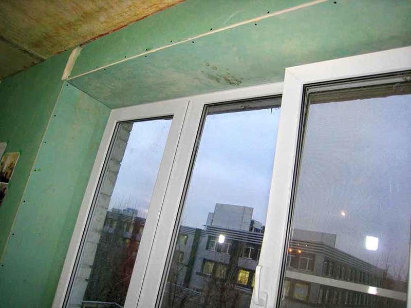 Установка откосов и подоконников на пластиковые окна: инстру.
