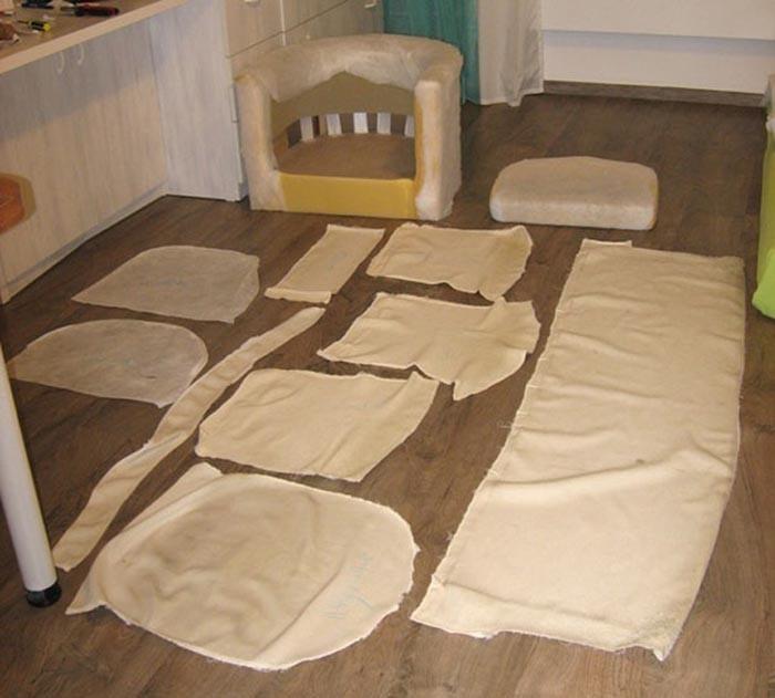Сделать мягкую мебель своими руками мастер класс для начинающих 56