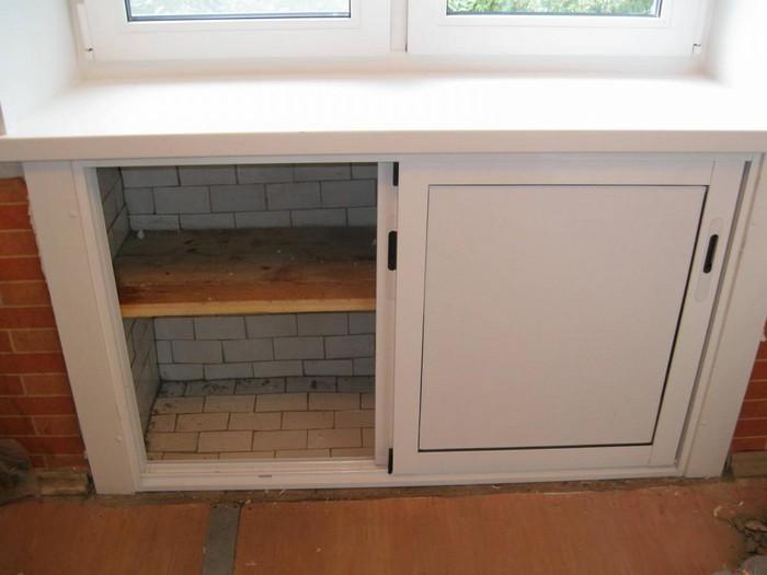 Сделать зимний холодильник своими руками 88