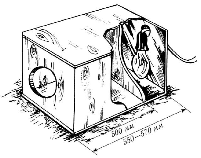 Как сделать клетку маточник для кролика
