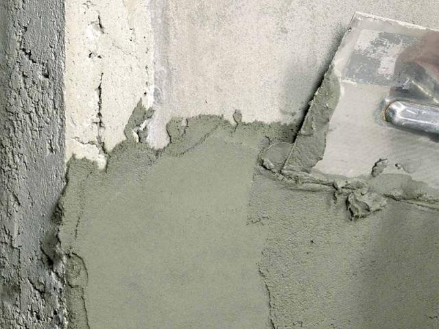 Штукатурка стен цементно песчаным раствором своими руками