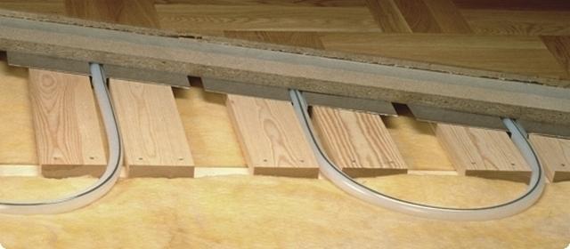 Как сделать теплый пол под деревянный пол 111