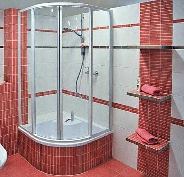 Как сделать в ванной комнате душевую кабину своими руками