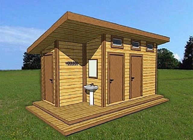 Душ для дачи и туалет для дачи под одной крышей своими руками фото 73