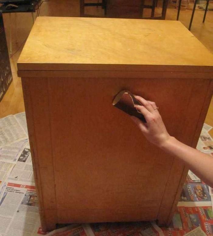 Как отреставрировать мебель из дсп своими руками 24