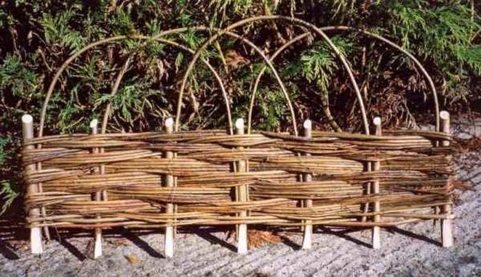 Поделки для дачи из виноградной лозы 94